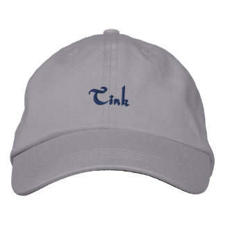 Tink Embroidered Baseball Caps