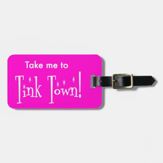 Tink Tinkerbelle Disney Luggage Tag