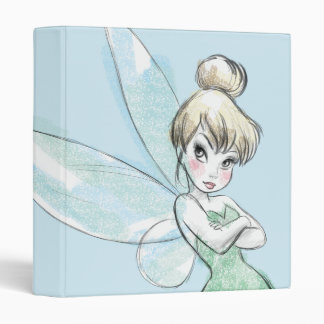 Tinker Bell | Arms Crossed Pastel Binders