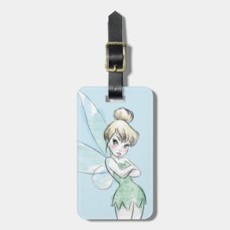 Tinker Bell | Arms Crossed Pastel Luggage Tag