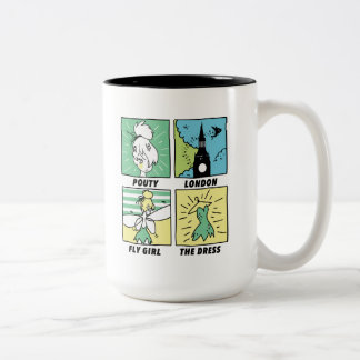 Tinker Bell   Cute Comics Two-Tone Coffee Mug