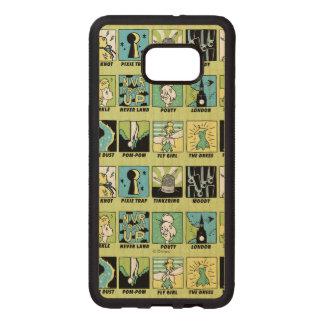 Tinker Bell | Cute Comics Wood Samsung Galaxy S6 Edge Case