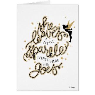 Tinker Bell   Festive Christmas Card