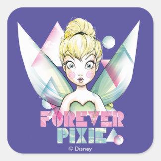 Tinker Bell Forever Pixie Square Sticker