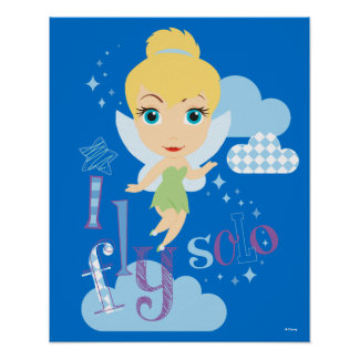 Tinker Bell | I Fly Solo Poster