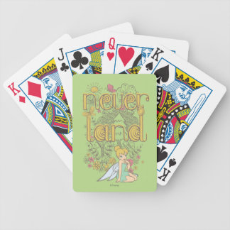Tinker Bell in Neverland Forest Bicycle Playing Cards