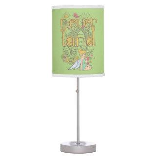Tinker Bell in Neverland Forest Desk Lamps