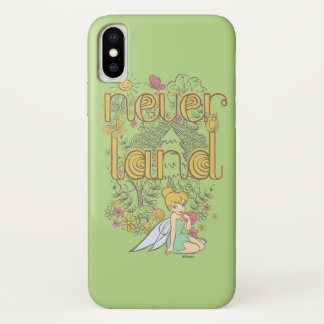 Tinker Bell in Neverland Forest iPhone X Case