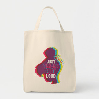 Tinker Bell - Just Tink-ing Out Loud Grocery Tote Bag