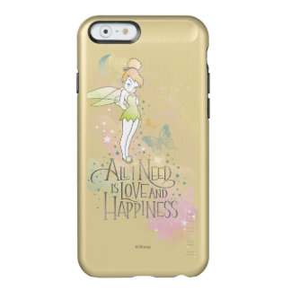 Tinker Bell Love And Happiness Incipio Feather® Shine iPhone 6 Case