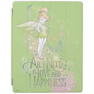 Tinker Bell Love And Happiness iPad Cover