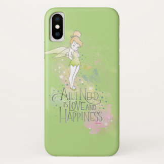 Tinker Bell Love And Happiness iPhone X Case
