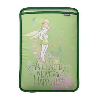 Tinker Bell Love And Happiness MacBook Air Sleeve