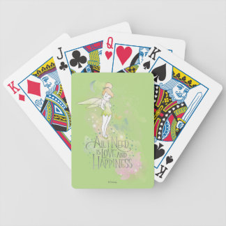 Tinker Bell Love And Happiness Poker Deck
