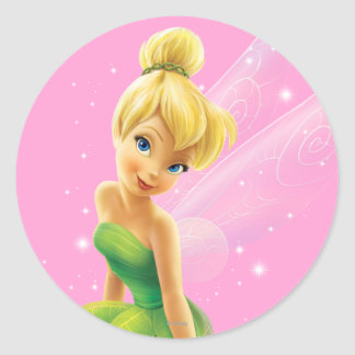 Tinker Bell  Pose 20 Round Sticker