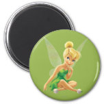 Tinker Bell  Pose 21 2 Inch Round Magnet