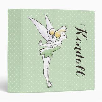 Tinker Bell | Pretty Little Pixie 3 Ring Binders