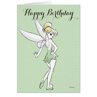 Tinker Bell | Pretty Little Pixie Card