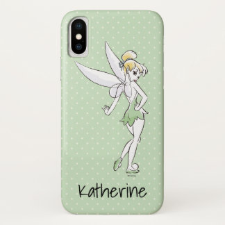 Tinker Bell | Pretty Little Pixie | Your Name iPhone X Case