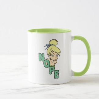 Tinker Bell   She Says Nope Mug