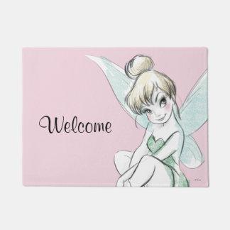 Tinker Bell | Sitting Pastel Doormat