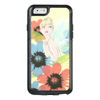 Tinker Bell Sketch With Cosmos Flowers OtterBox iPhone 6/6s Case