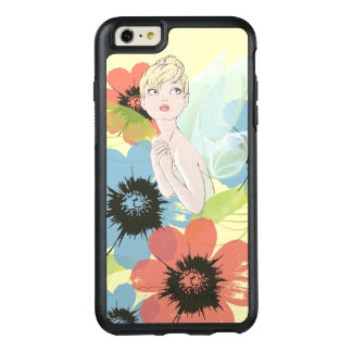 Tinker Bell Sketch With Cosmos Flowers OtterBox iPhone 6/6s Plus Case