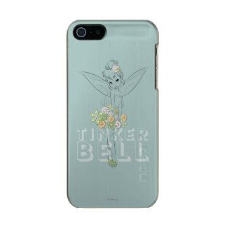 Tinker Bell Sketch With Jewel Flowers Incipio Feather® Shine iPhone 5 Case