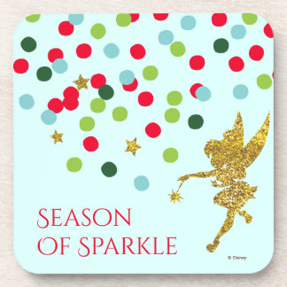 Tinker Bell   Tinker Bell Christmas Sparkle Coaster
