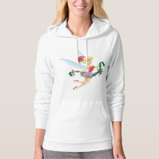 Tinker Bell | Tinker Bell Decorating The Tree Hoodie