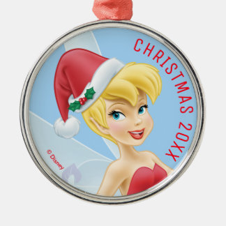 Tinker Bell | Tinker Bell Decorating The Tree Metal Ornament