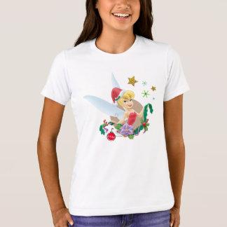 Tinker Bell | Tinker Bell In Santa Hat T-Shirt