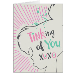 Tinker Bell | Tinking of You Valentine Card