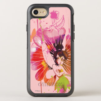 Tinker Bell - Watercolor Flowers OtterBox Symmetry iPhone 8/7 Case