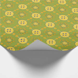 Tinker Toy Inspired Gift Wrap