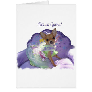 """Tinkerbell the """"Drama Queen!"""" Card"""