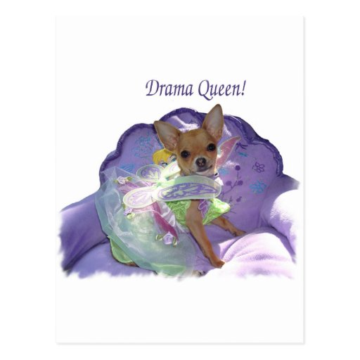 "Tinkerbell the ""Drama Queen!"" Postcards"