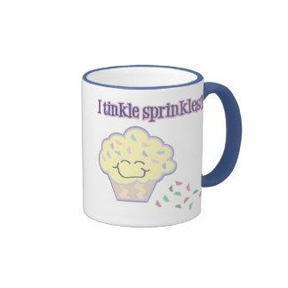 tinkle sprinkles funny cupcake mugs