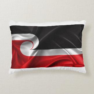 Tino Rangatiratanga flag Accent Pillow