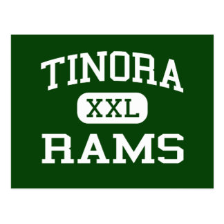 Tinora - Rams - Junior High School - Defiance Ohio Postcard
