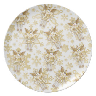 Tinsel Martzkin Melamine Treat Plate