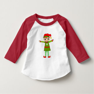 Tinsel Toddler 3/4 Sleeve Raglan Tshirt