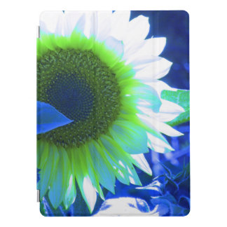 tinted pretty sunflower - blue iPad pro cover