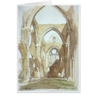Tintern Abbey - greeting card