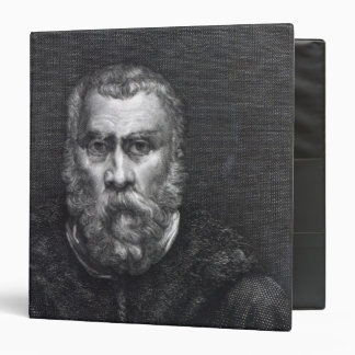 Tintoretto, engraved by Delaistre 3 Ring Binders