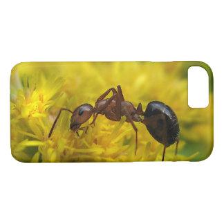 Tiny Ant on Goldenrod iPhone 7 Case