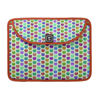 Tiny Apples Colorful Pattern Sleeve For MacBooks