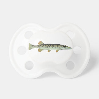 Tiny baby muskie Vector Art Fish Farm Pacifier