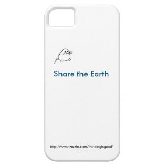 Tiny baby seal: Share the Earth iPhone 5 Cover