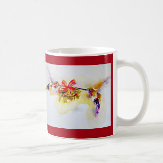 """Tiny Bells"" Christmas Hummingbirds Coffee Mug"